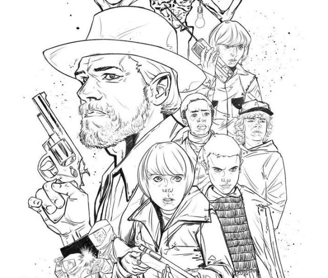 Film Tv Show Coloring Pages