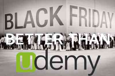 Better Than Udemy Black Friday