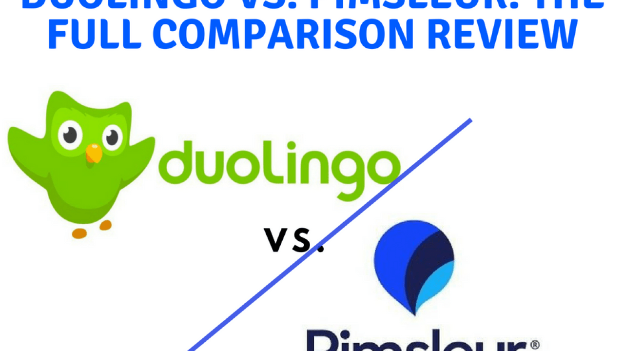Duolingo vs Pimsleur: The Full Comparison Review - Online