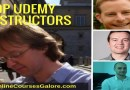 Top udemy instructors with 100K+ students enrolled