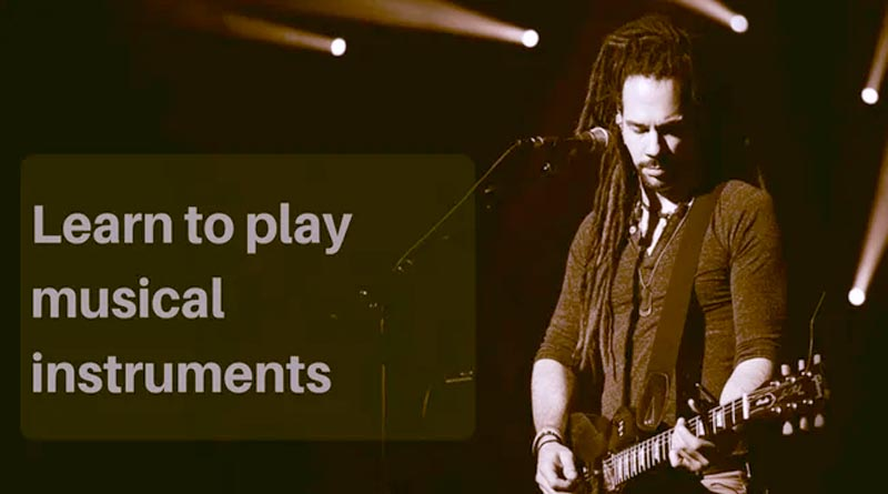learn to play musical instruments online
