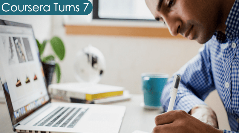 Coursera celebrates 7 years of learning and teaching