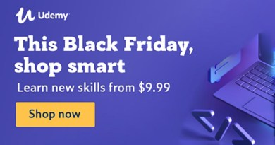 udemy black friday sale 2019