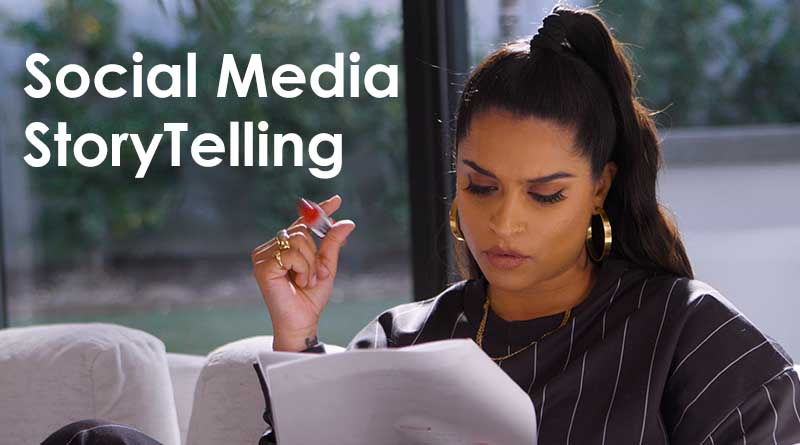 social media storytelling lilly singh