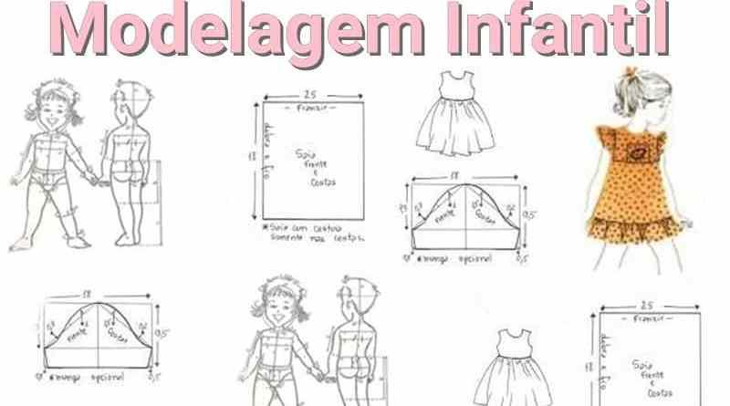 4 Apostila De Modelagem Infantil Para Baixar Em Pdf Curso De