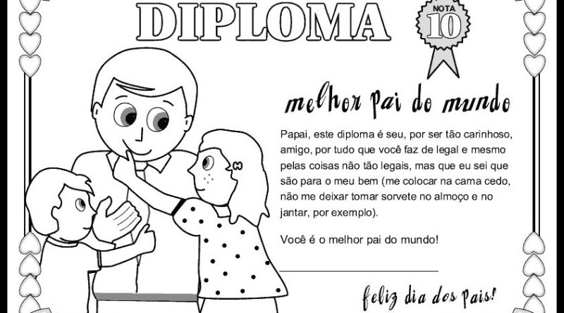 80 Atividades Dia Dos Pais Para Imprimir E Colorir Educacao