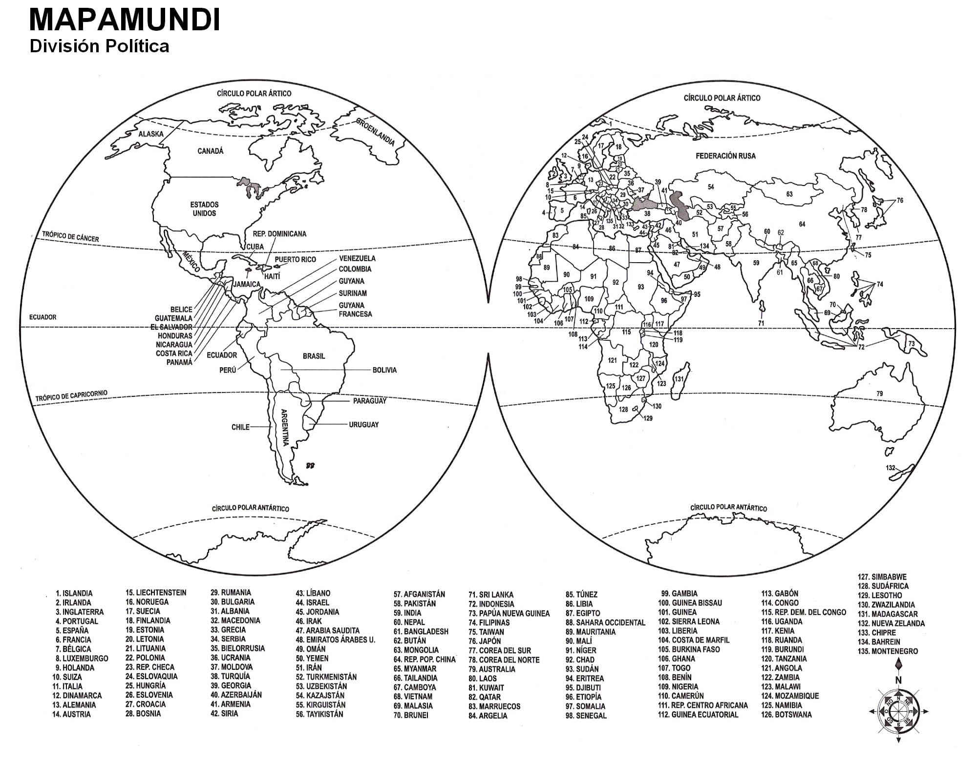 20 Mapas Mundi Preto E Branco Para Imprimir E Colorir Educacao