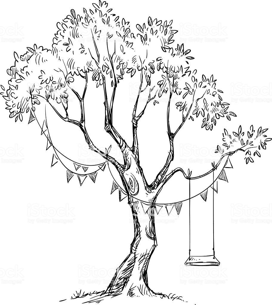 50 Desenhos De Arvores Para Imprimir E Colorir Online Cursos