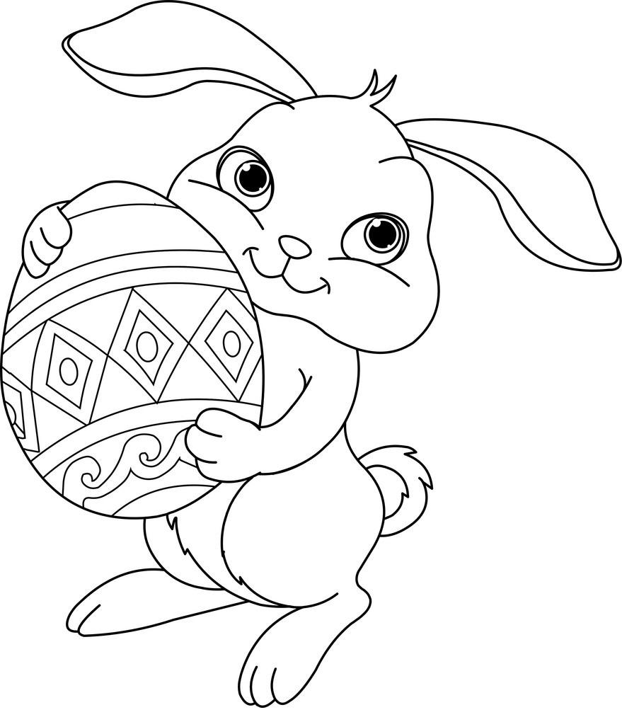 40 Desenhos De Coelhos Para Colorir Pintar E Imprimir Online