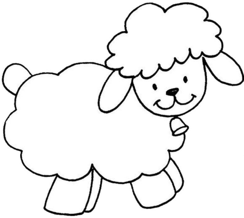 30 Desenhos De Ovelhas Para Colorir E Pintar Online Cursos Gratuitos