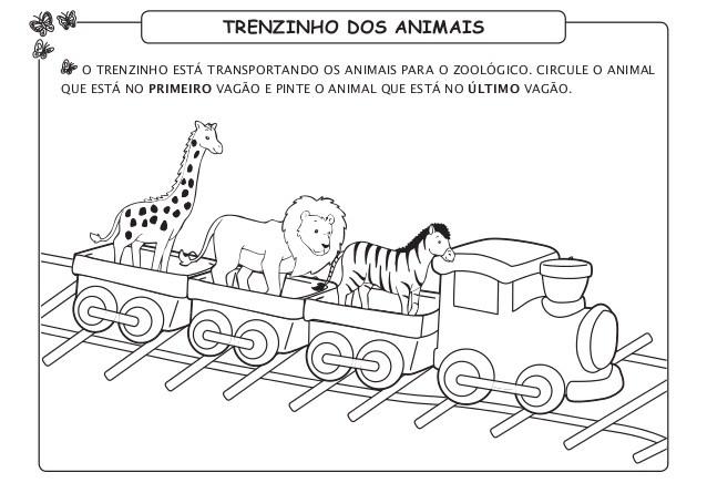 12 Atividades Sobre Animais Do Zoologico Para Imprimir Online