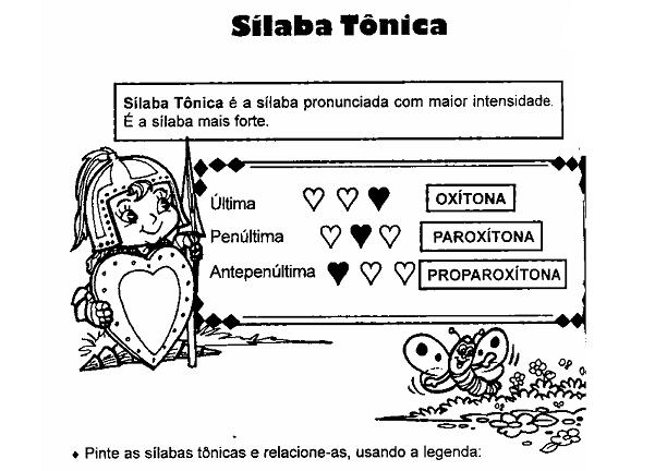 32 Atividades Com Silabas Tonicas Para Imprimir Online Cursos