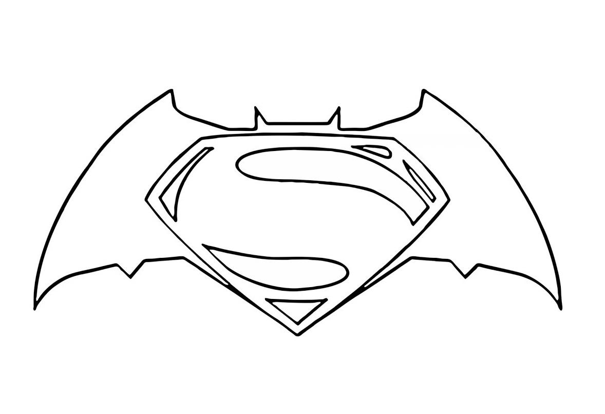 Top Five Simbolo Do Batman Para Colorir E Imprimir