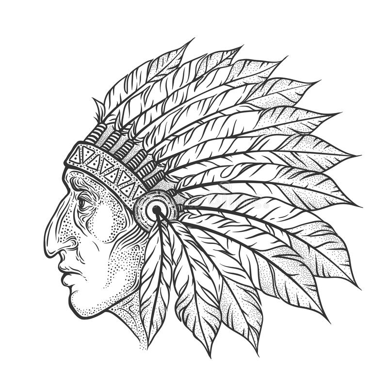 12 Desenhos De Cocar Indigena Para Colorir E Imprimir Online