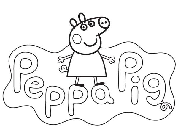 20 Desenhos Da Peppa Pig Para Colorir E Imprimir Online Cursos