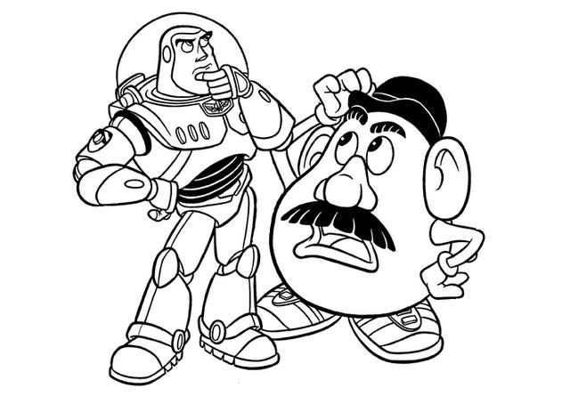 40 Desenhos Do Toy Story Para Colorir E Imprimir Online Cursos