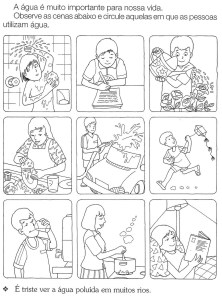 20 Desenhos Sobre A Agua Para Colorir E Imprimir Online Cursos