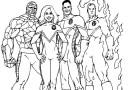 30 Desenhos de Super Heróis para Colorir e Imprimir