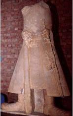 Emperor Kanishka, Kushana period, 1st century A.D. (Government Museum, Mathura).