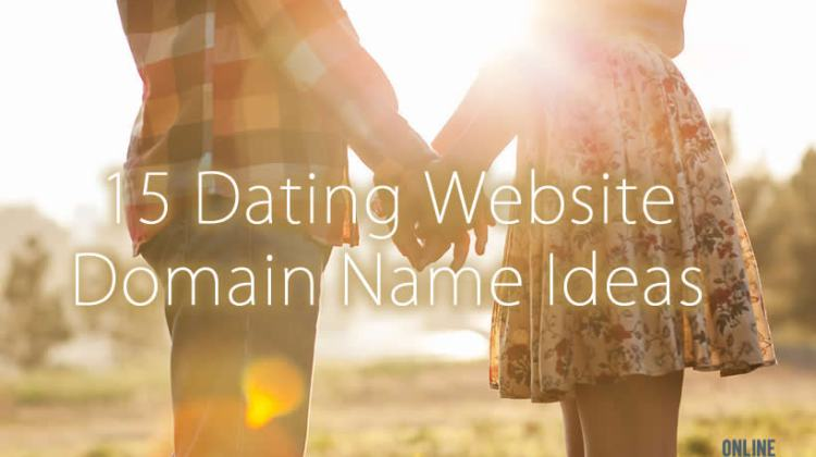 online dating website domain ideas
