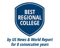 Ranked Best Regional College by US News & World Report for 8th Consecutive Year