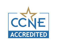 CCNE Accreditation Badge