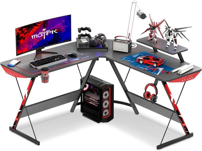 MOTPK L shaped gaming desk 51