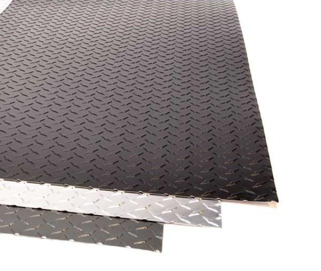 Embossed Aluminum Diamond Plate Sheet 025 Thick Online Diamond Plate