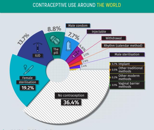 Worldwide Contraceptive Type Breakdown
