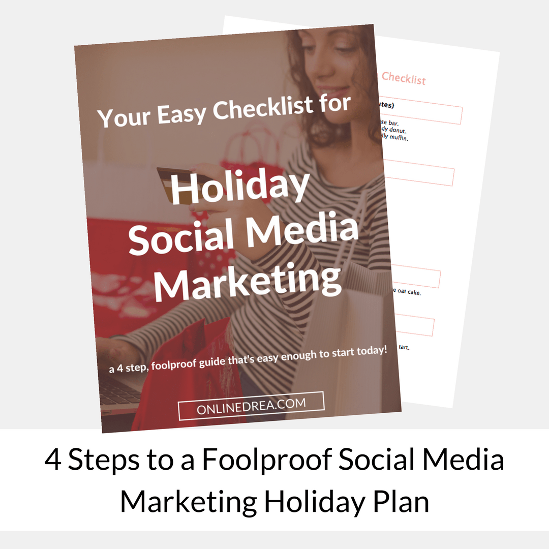 4 Steps to a Foolproof Social Media Marketing Holiday Plan