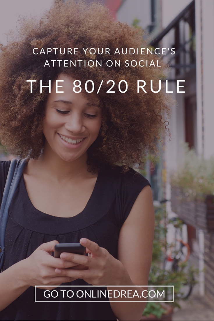 If you're a new brand, how do you capture the short attention spans of your audience in the digital age? In this blog post, you'll learn about the 80/20 rule and what types of content to share on social media.