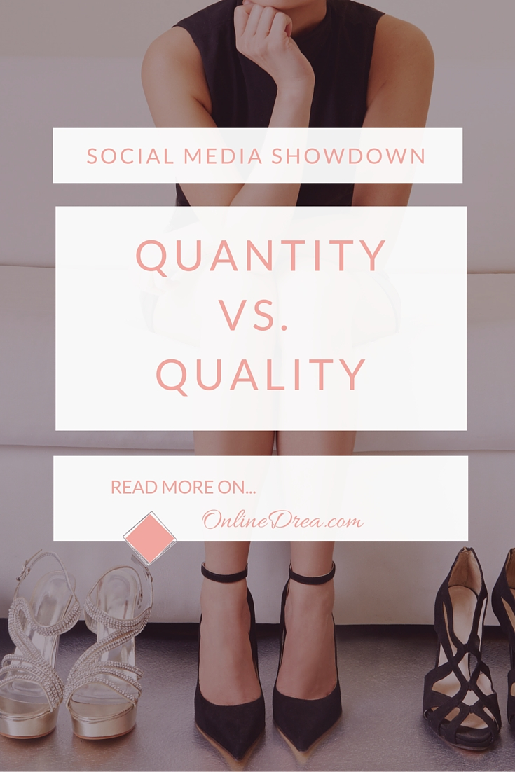 Here's why quality on social media wins every time.