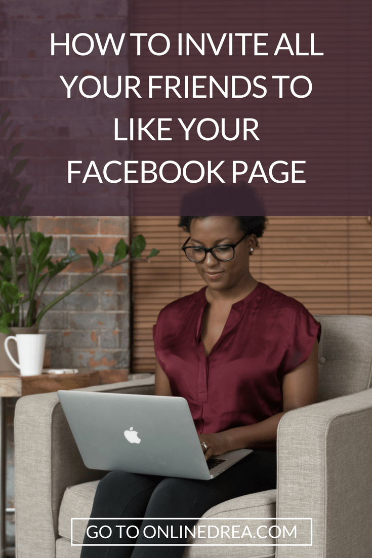 Invite All Your Friends to Like Your Facebook Page