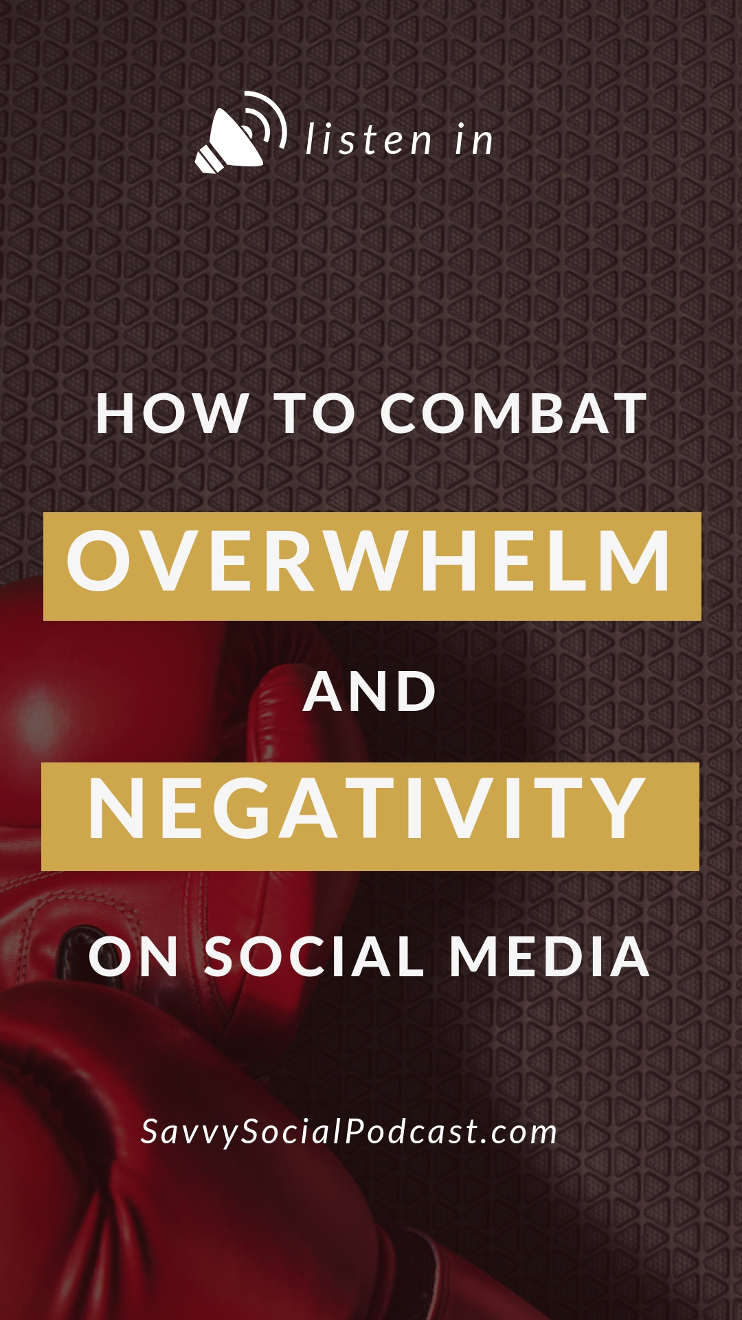 Raise your hand if social media is overwhelming & negative for you. ✋  You're not alone! In this podcast episode, you'll hear some practical tips for how to combat those stressful feelings.