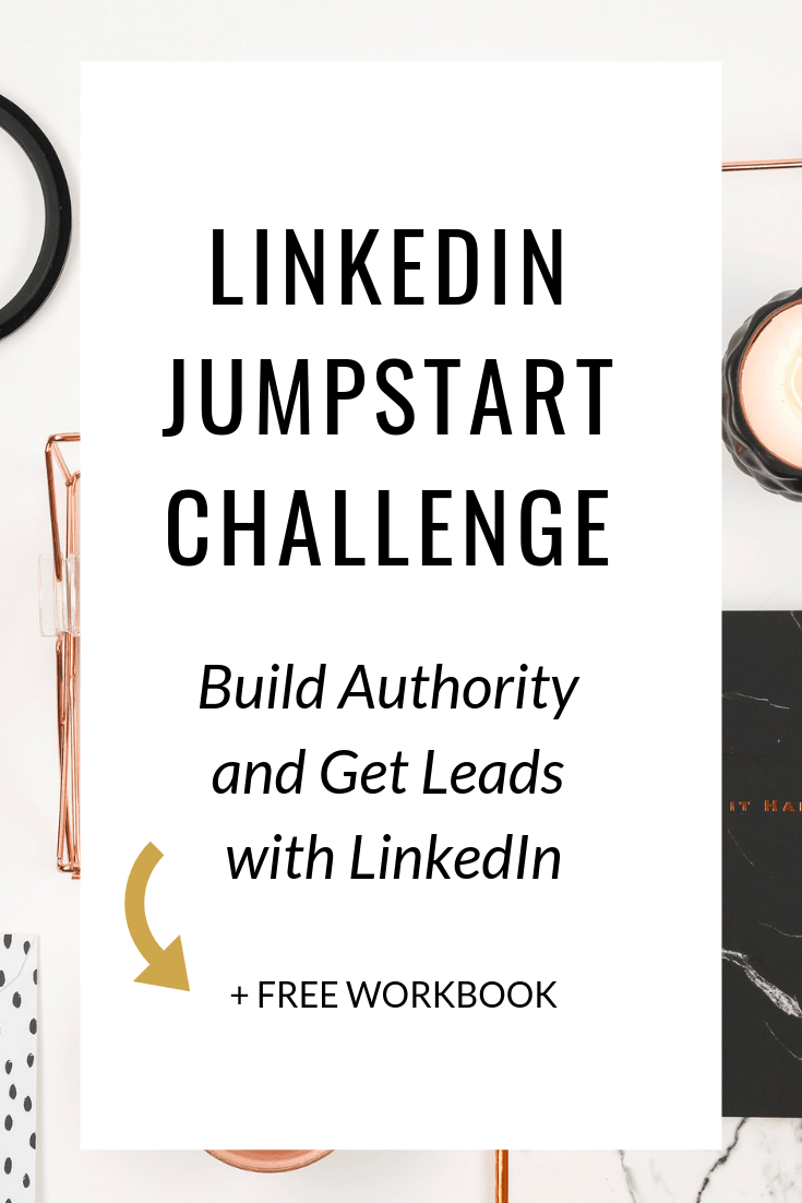 Are you tired of struggling to gain traction on social media? Try LinkedIn! In this free 5 day challenge, you'll learn how to leverage your LinkedIn account to build authority and get more leads for your business.