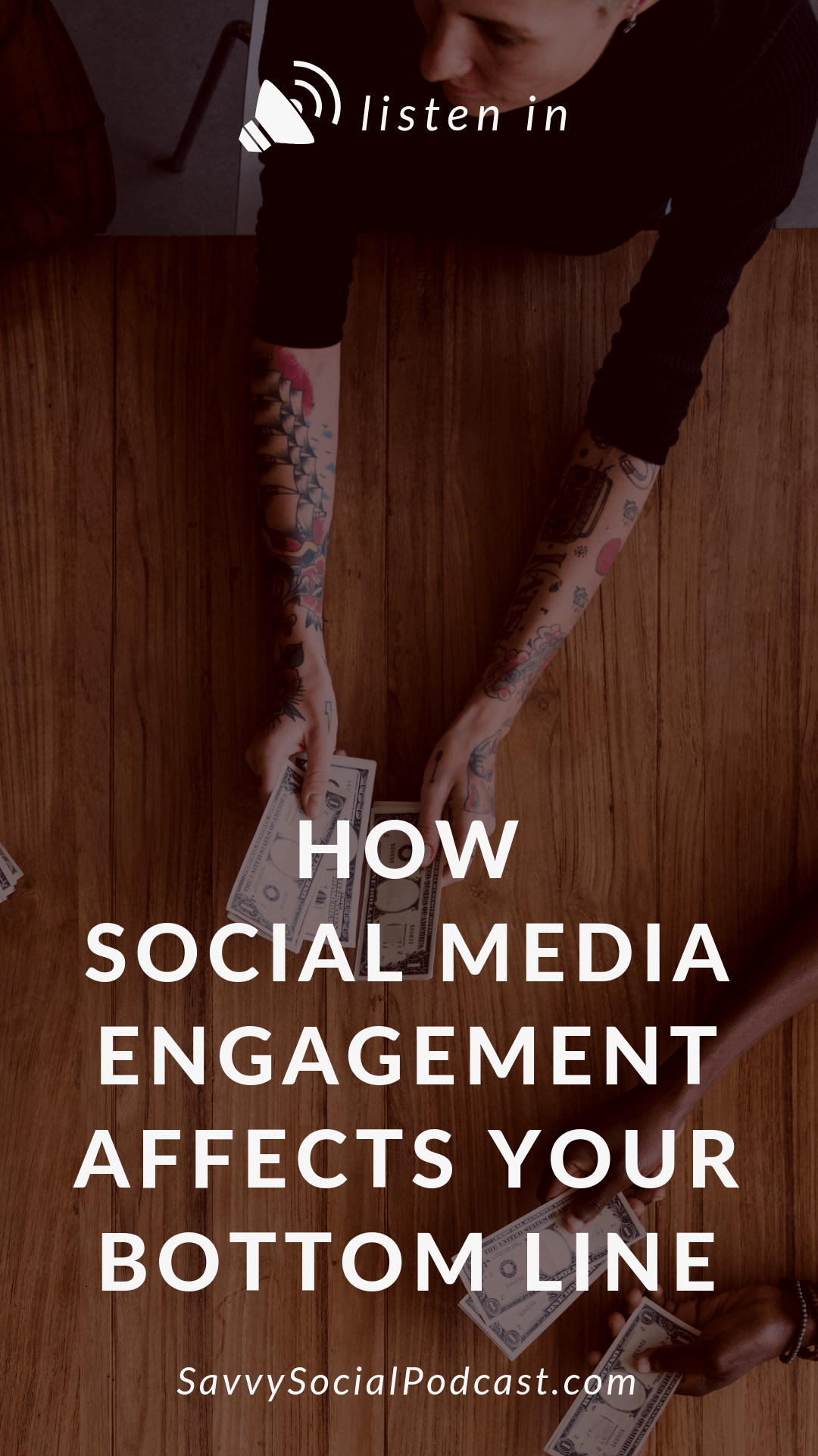 Did you know that the right kind of #socialmedia engagement could effect your business in massive ways? Listen in to this podcast episode to find out how it effects your bottom line and ways you can increase your current engagement.