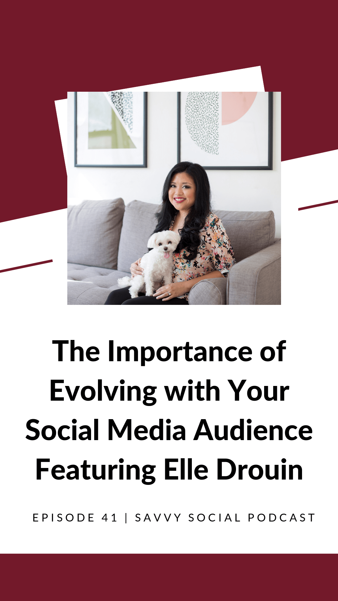 Are you evolving with your audience? In this #podcast episode, we're digging into understanding what user data says about your brand and your product as well as some tips for how to access great content.