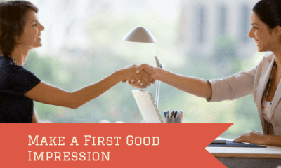 Make a First Good Impression