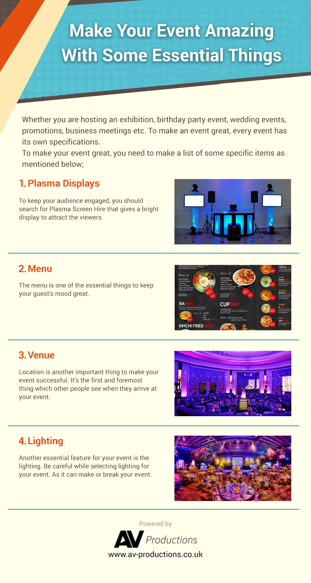 Make Your Event Amazing With Some Essential Things 1