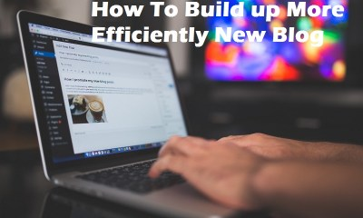How To Build up More Efficiently New Blog