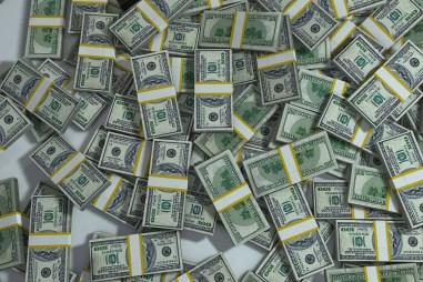Lots of money.