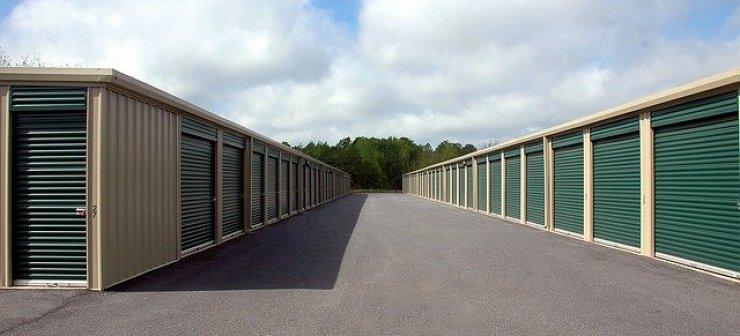 A storage warehouse.