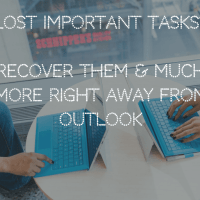 [Solved] How to Recover Deleted Tasks in Outlook