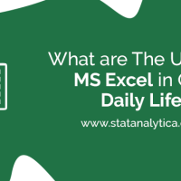 What are The Uses of Excel in Our Daily Life?