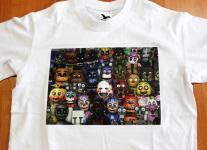 koszulka z nadrukiem foto