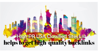 Top 50 plus best High PR Classified Sites list USA for good quality link building