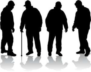 Retired or senior people