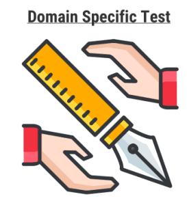 Domain Specific Online exam