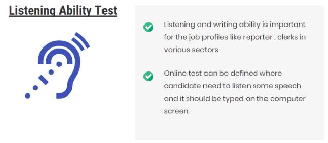Listening Ability Test Assessment
