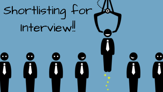 Shortlisting for Interview